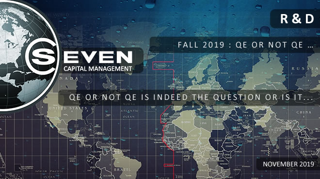 illustration FALL 2019 : QE OR NOT QE …